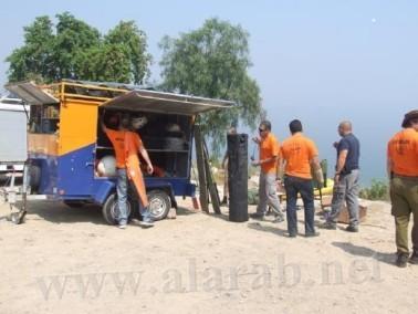 إنقلاب قارب في بحيرة طبريا وعلى متنه 9 نساء