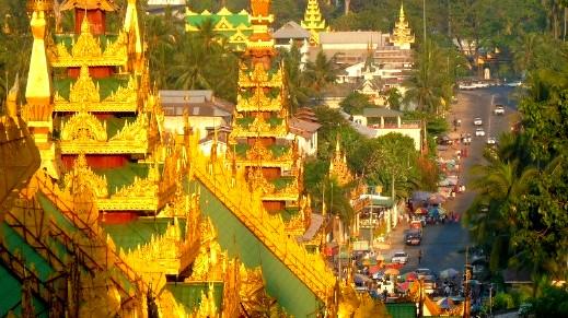دولة في جنوب شرق آسيا ميانمار أي بورما
