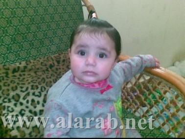 أحلى طفله اسمها:رقيه فلاح طه من:دير الاسد