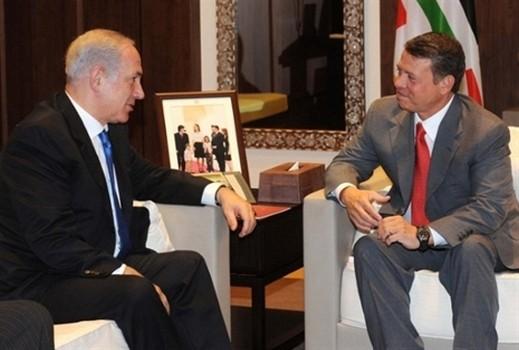 العاهل الأردني يرحب بفكرة نتنياهو مد سكك حديدية