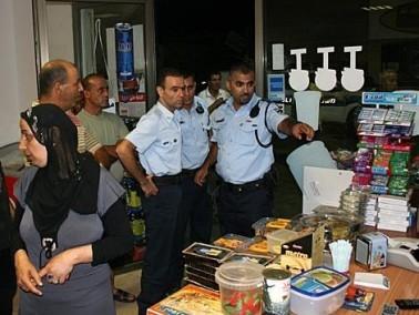 كفرقرع: مجهولون نفذوا عملية سطو مسلح على محل تجاري