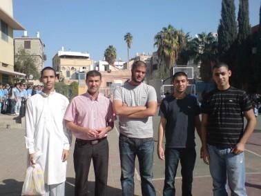 مؤسسة القلم بيافا:تشارك طلاب الزهراء فرحة العيد