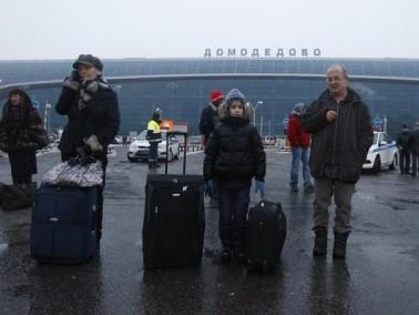 عشرات القتلى والجرحى في انفجار بمطار في موسكو