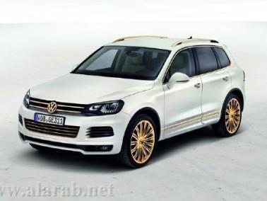 Volkswagen Touareg Gold Concept 2011 قمة الأناقة