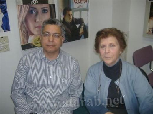 الشاعرة سعاد قرمان في برنامج نادر أبو تامر