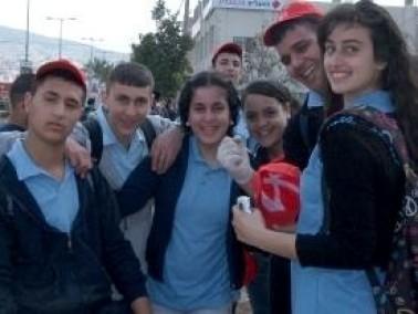 طلاب مدراس طمرة يحيون يوم النظافة العالمي