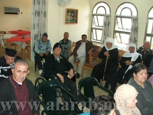 جمعية تزيين الكنائس تحتفل مع مركز المسن في شفاعمرو