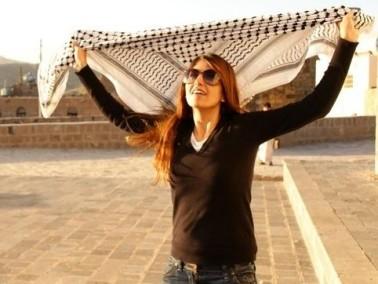 رشا عامر.. فلسطينية لاجئة.. تُمجد بصورها لذة الارتطام
