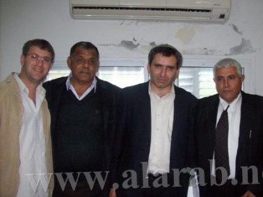 رئيس الإئتلاف الحكومي يزور مستشار رئيس الحكومة