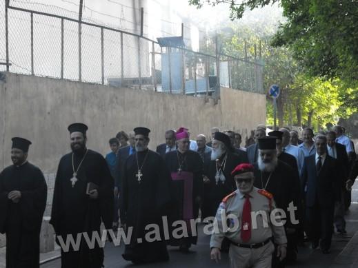توحيد المعايدات لكافة الكنائس المسيحية في الناصرة