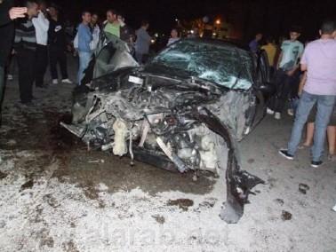 اصابة شخصين بجراح بالغة الخطورة في حادث طرق