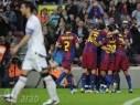 برشلونة على السكة الصحيحة للحصول على لقب البطولة بعد فوزه على أوساسونا