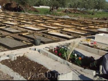اعمال تطوعية في مقبرة الشهداء في مجد الكروم