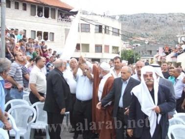 عقد راية الصلح بين عائلتي اسدي وموسى في دير الاسد