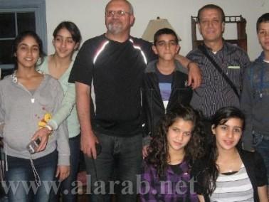عودة طلاب إعدادية ديرالأسد من مخيم أوهايو