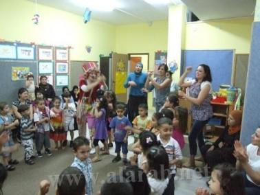 روضات الحياة في مجد الكروم تحتفل بيوم الطفل العالمي