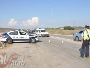 مواطنون من عيلوط يتذمرون من حاجز الشرطة