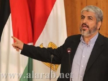 الأردن يسمح لخالد مشعل بدخول اراضيه لأسباب انسانية