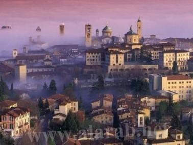 ميلانو:عروس إيطالية أنيقة وساحرة بتفاصيلها الرائعة