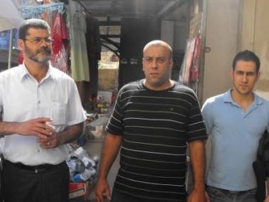 عوايسي في جولة تفقدية في أحياء وأسواق مدينة الناصرة