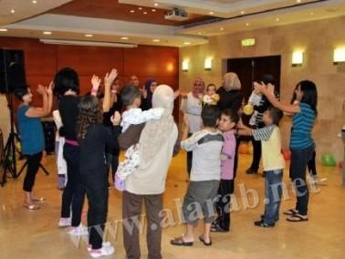 جمعية بسمة أمل ترسم الفرحة على وجوه الاطفال في رمبام