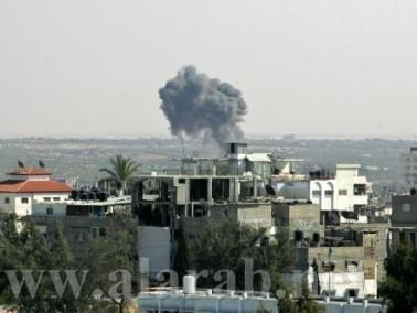 إصابتان في سلسلة غارات على قطاع غزة
