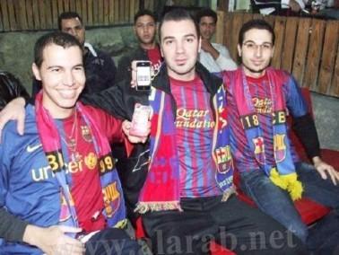 أجواء كرنفالية في مجد الكروم في احتفالات برشلونة