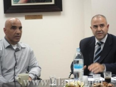 عمار يجتمع مع مدير عام جمعية اور يروك
