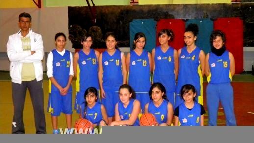 فتيات الناصرة يفزن على فتيات دبورية 51-12