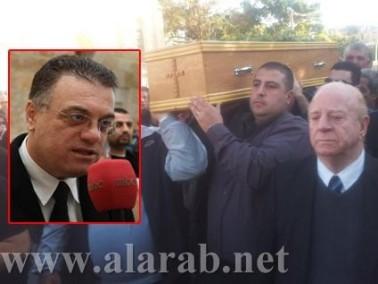 تشييع جثمان جابي قديس من يافا وسط اجواء من الحزن