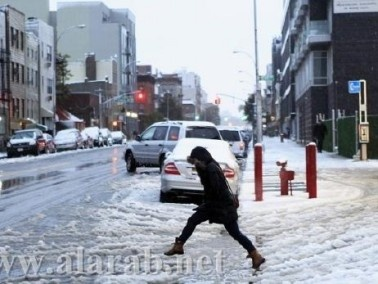الأرصاد الجوية:برد قارس وأمطار غزيرة