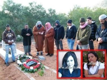 جماهير غفيرة يشيعون جثامين المرحومتين إيفانا وشيرين
