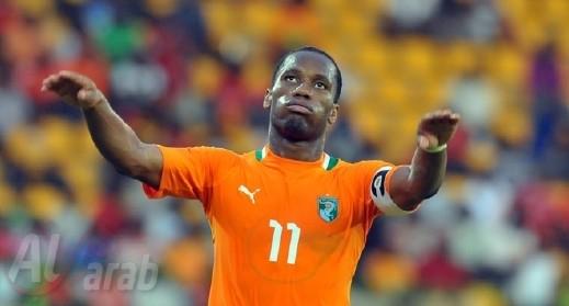 دروغبا يقود ساحل العاج الى فوز صعب على السودان