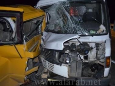 إصابة 3 أشخاص في حادث مروع قرب برطعة