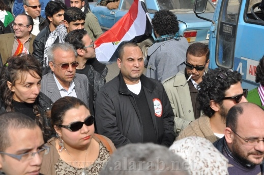 مسيرة تسليم وثيقة الإبداع للبرلمان المصري