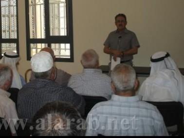 ثقافة صحية في النادي الاجتماعي للمسنين في طرعان