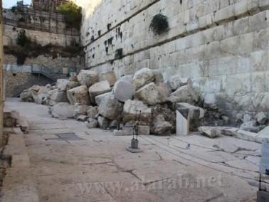 خطيب : الاحتلال يُسرِّع الحفريات في المسجد الأقصى