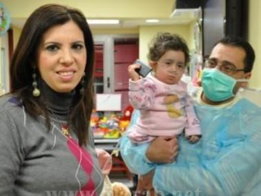 أمل خازن: الفحوصات للطفلة ملك مطمئنة باتجاه الشفاء