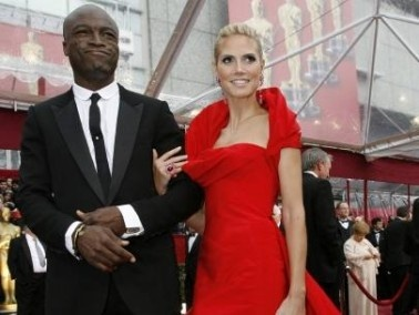 عارضة الأزياء هايدي كلوم وزوجها بطريقهما للطلاق