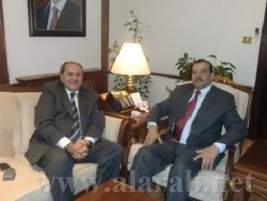 النائب الطيبي يلتقي وزير الداخلية الاردني