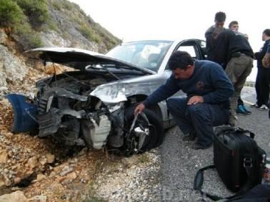 إصابة سائقة من سخنين بحادث طرق بين مركبتين