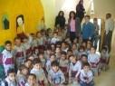 أطفال روضة تيراسنطا في أريحا يزورون مركز الطفل
