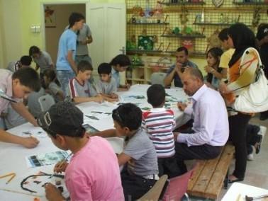 مركز الطفل في اريحا ينظم فعالية للأطفال بمناسية يوم ا