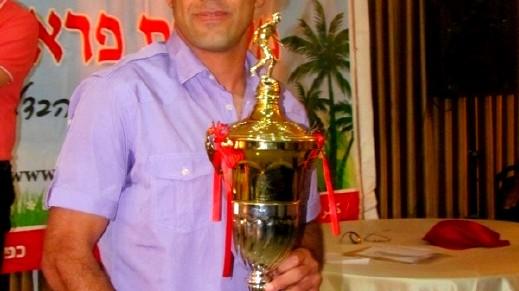 احمد السبع يحصل على لقب لاعب الموسم