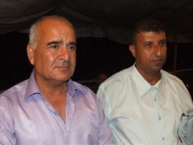 خيمة اعتصام ضد سياسة مصادرة الاراضي في معاوية