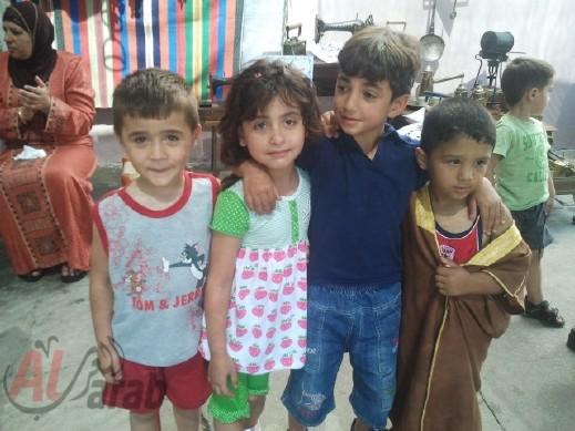 اكسال:تنظيم يوم التراث العربي في روضات الأقصى