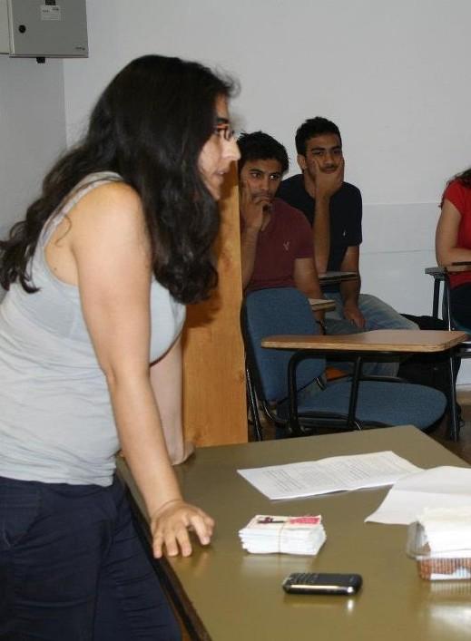 نشاط بموضوع الجنسانية للطلاب العرب بالجامعة العبرية