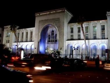 انفجار ضخم قرب القصر العدلي بدمشق