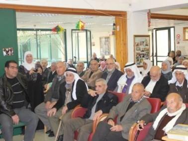 حفل خاص لاختتام فعاليات سنة 2013 في نادي المسنين كفركنا