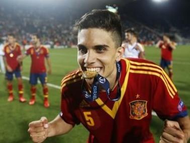 رسمياً:بارترا يجدد عقده مع برشلونة حتى 2017